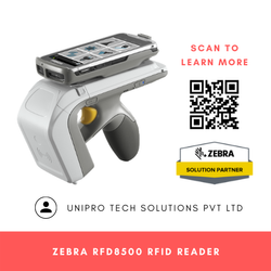 Zebra RFD8500 Handheld RFID 2D Sled