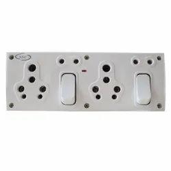 15A 2+5 NSC Modular Switch Socket Combination