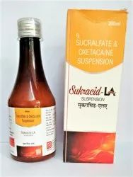 Sucralfate and Oxetacaine Suspension