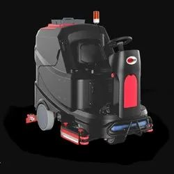 Battery Operated Ride On Scrubber Dryer