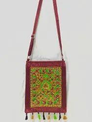 Mashru Silk Handicraft Bag