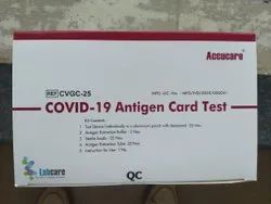 My Lab Accucare Covid 19 Antigen Test Kit, ICMR Approved