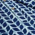 Janasya Men's Blue Cotton Kurta(MEN5008)