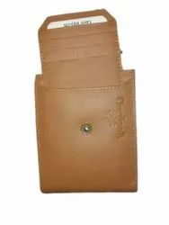 Modern Leather Woodland Two Fold Wallet