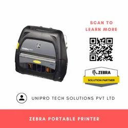 Zebra ZQ520 Portable Label Printer