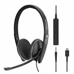 Black Sennheiser SC 135/165 Headsets