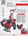 Diesel Engine Back Rotary Tiller