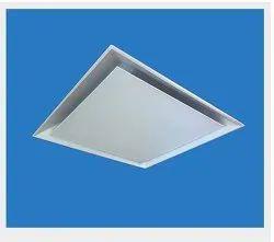 Powder Coated Aluminium Square Plaque Diffuser, For Commercial