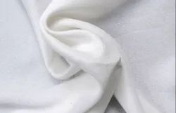 Plain White Textile Polyester Fabric