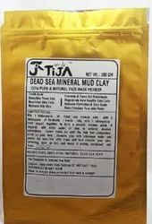 TIJA Clay Minerals Mud, For Cosmetic, Packaging Size: 200 Gm