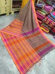 Wedding Wear Begum Puri Handloom Cotton Saree, 5.5 M (separate Blouse Piece)