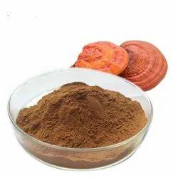 Dark Brown Mycelium Reishi Mushroom Extract Powder, Packaging Size: 25 KG