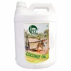 5 Liter Bull Driven Cold Pressed Coconut Oil