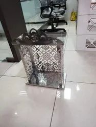 Miror Finish Home,Office Stainless Steel Temple, Shape: 24*18*10