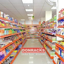 A Type L Type & G Type Supermarket Display Rack