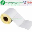 PULP Thermal Transfer Labels 100 x 50 mm (4 x 2 inch), 1 Up Chromo TT100x50x1