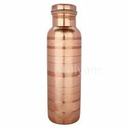Polished Copper Water Bottle