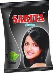 20g Sarita Black Henna Powder, For Hair Color