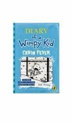 一本懦弱的孩子小屋发烧书的英语日记