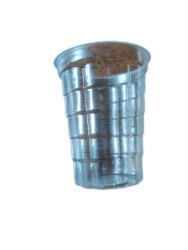 Transparent Plain 250 ML Disposable Plastic Glass