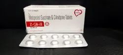 Metoprolol Succinate and Clinidipine Tablets (Z-Cili-M Tablet)