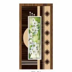Steel Beading Plywood Membrane Door
