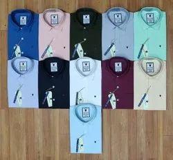 DP Full Sleeve Plain Shirts, Size: M L Xl Xxl