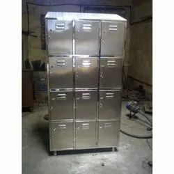 Stainless Steel Locker With 12 Compartment