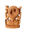 Laxmi Ji Wooden Murti 4 inch