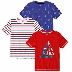 5-14 Yrs Cotton Boys T Shirt