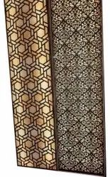 Brown Wooden Partition Panel, For Commercial