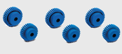 Sintered Gears Visually Detectable Technopolymer