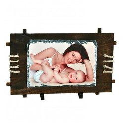 Sublimation Stone With Wooden Base