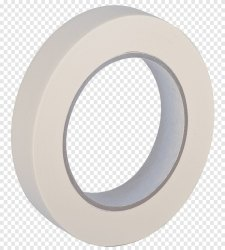 Color: White Plastic Bag Seal Fiberglass Tape