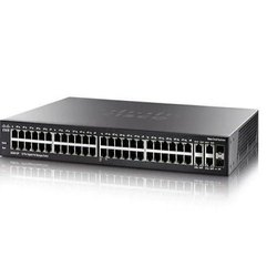 2 Black Gigabit Switch, Model Name/Number: Cisco Sg350-52-k9