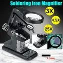 Magnifier With Auxiliary Clip 3x-4x-16x