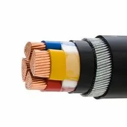 Polycab For Industrial 4 sqmm PVC Insulated Electrical 4 Core Wires