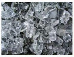 Transparent Broken Cullet Glass Scrap, Size: 6 Mm