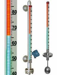 Magnetic BI Color Level Indicator