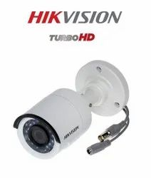 Hikvision HD Premium Series DS-2CE1AD0T-IRPF 2 MP 1080P Turbo HD Outdoor Bullet Camera (White)