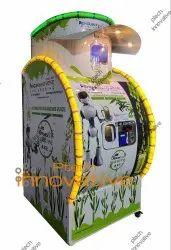 1st Automatic Sugarcane Vending Machine