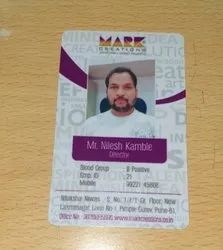 Square Double Sided ID Cards UV, 2 g
