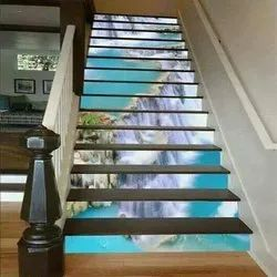 High Glossy Staircase 3D Tiles