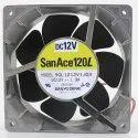 Sanace Cooling Fan 9gl1212v1j03 12v 1.9a, For Industrial Machine, 24vdc