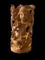 Shankar Ji Wooden Murti 8 Inch