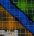 Unicorn 100% Cotton Discharge Laffer Finish Print Check Shirting Fabric