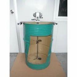 Pneumatic  Motor - IBC Stirrer Plate Mounted IBC Stirrer, Size: Upto 200 Liter Drums
