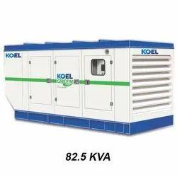 82.5 kVA KOEL by Kirloskar  DG Set