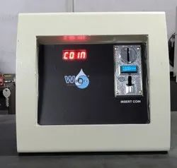 Single Tap Timer Based Multi Coin Water Vending Machine