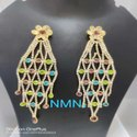 LCD Long Earring Jewellery Set For Women And Girl Bijoux  2